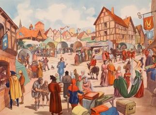 ярмарка средневековья